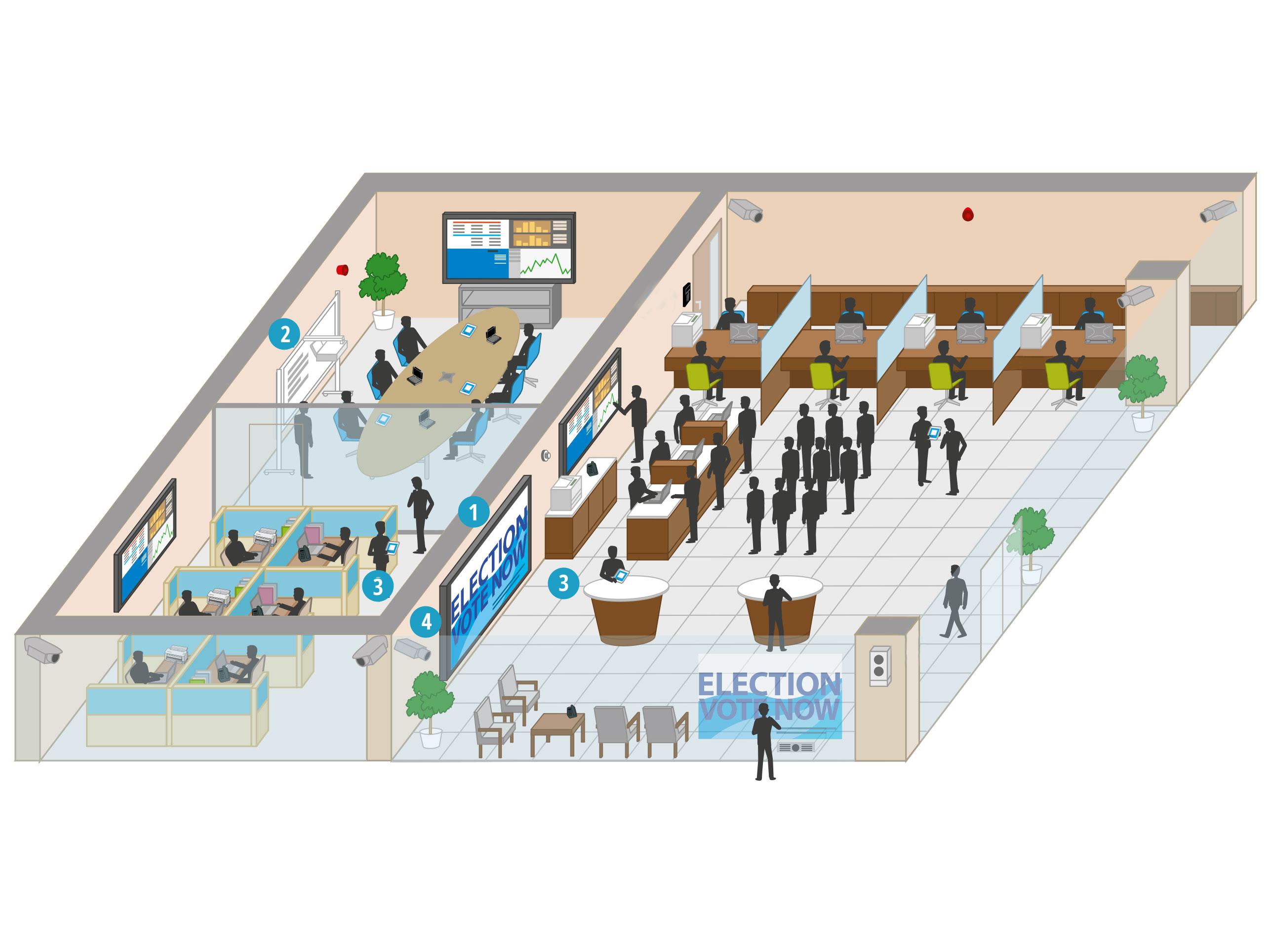 Wie unterstützen die Lösungen von Panasonic den öffentlichen Dienst?