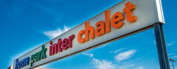 Inter Chalet setzt auf Panasonic Video-überwachung um  Diebstähle zu reduzieren, aber auch um Daten zum Kundenverhalten vor Ort