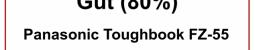 """Notebookcheck Test: """"Gut (80 %)"""" für TOUGHBOOK 55"""