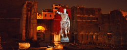 The Forum of Augustus: virtual reconstruction with Panasonic - de